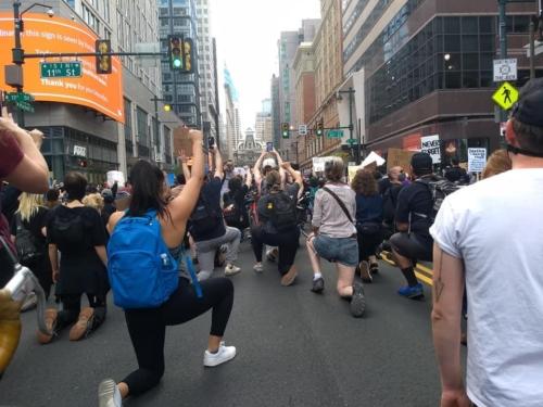 Black Lives Matter rally in Philadelphia