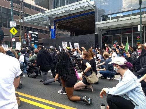 Black Lives Matter march in Philadelphia