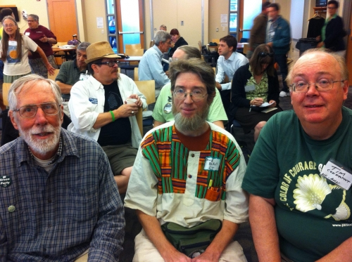 Left to Right: ?, David Bedell, Tim McKee
