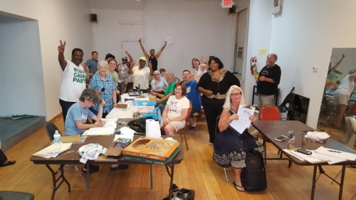 Green Party of St Louis, September 14, 2016