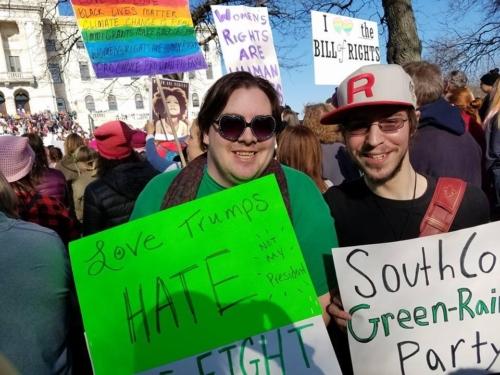South Coast Green-Rainbow Party