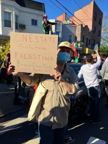 Pro Palestine Rally in the Bronx