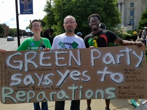 Green Party says yes to reparations