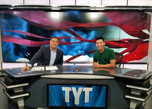 Kenneth Meija on The Young Turks