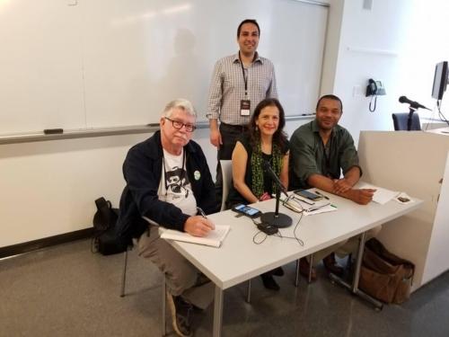 Jon Flanders, Gloria Mattera, Peter LaVenia, last seated person unknown