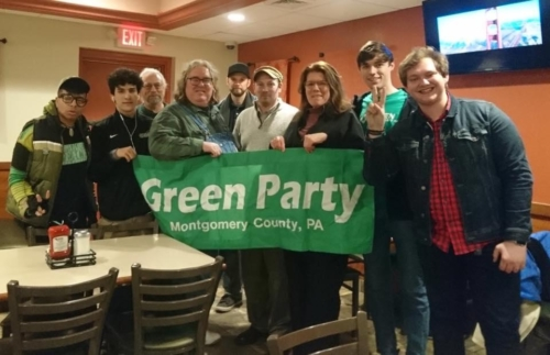 At tonight's Montgomery County Green Party meeting, Nicholas Prete for #Methacton school board was unanimously endorsed. 2019