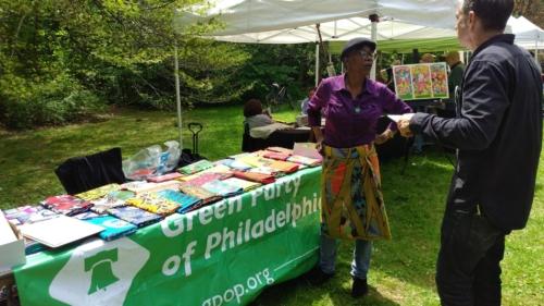 Green Party of Philadelphia (Olivia Faison?)