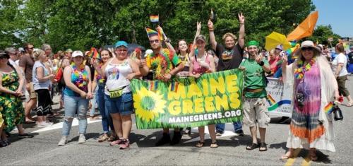 Southern Maine Pride Parade. 2019