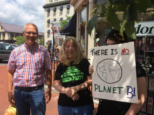 Sheri Miller and other Greens