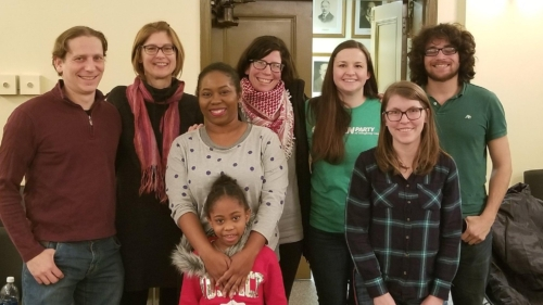 Allegheny County Greens with Jay Ting Walker at far right