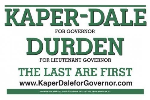 Kaper-Dale / Darden lawn sign