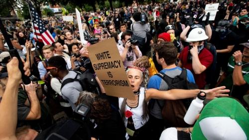 Antifa-march