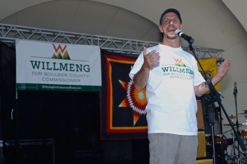 Cliff Willmeng 2018 candidate for Boulder County Commissioner