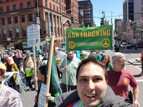 Albany 2018 climate march