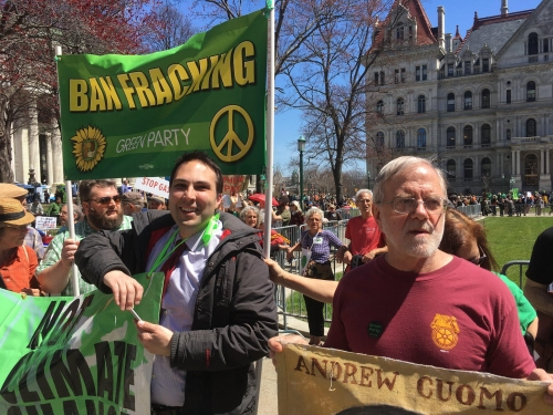 Albany 2018 climate marche