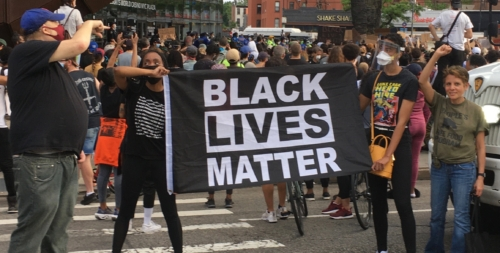 Black Lives Matter rally in NYC