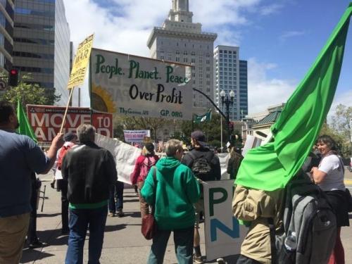 2018 anti-war rally in Santa Clara