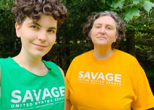 Lisa Savage supporter