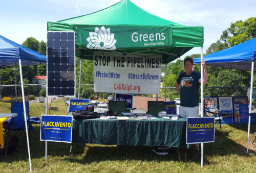 New River Valley Green Party, Juneteenth 2018