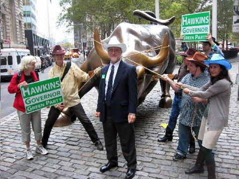 Howie Hawkins on Wall Street