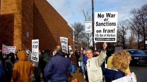 Anti-war with Iran Rally, Pittsburgh January 2020