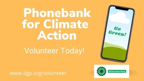 phonebank - climate change